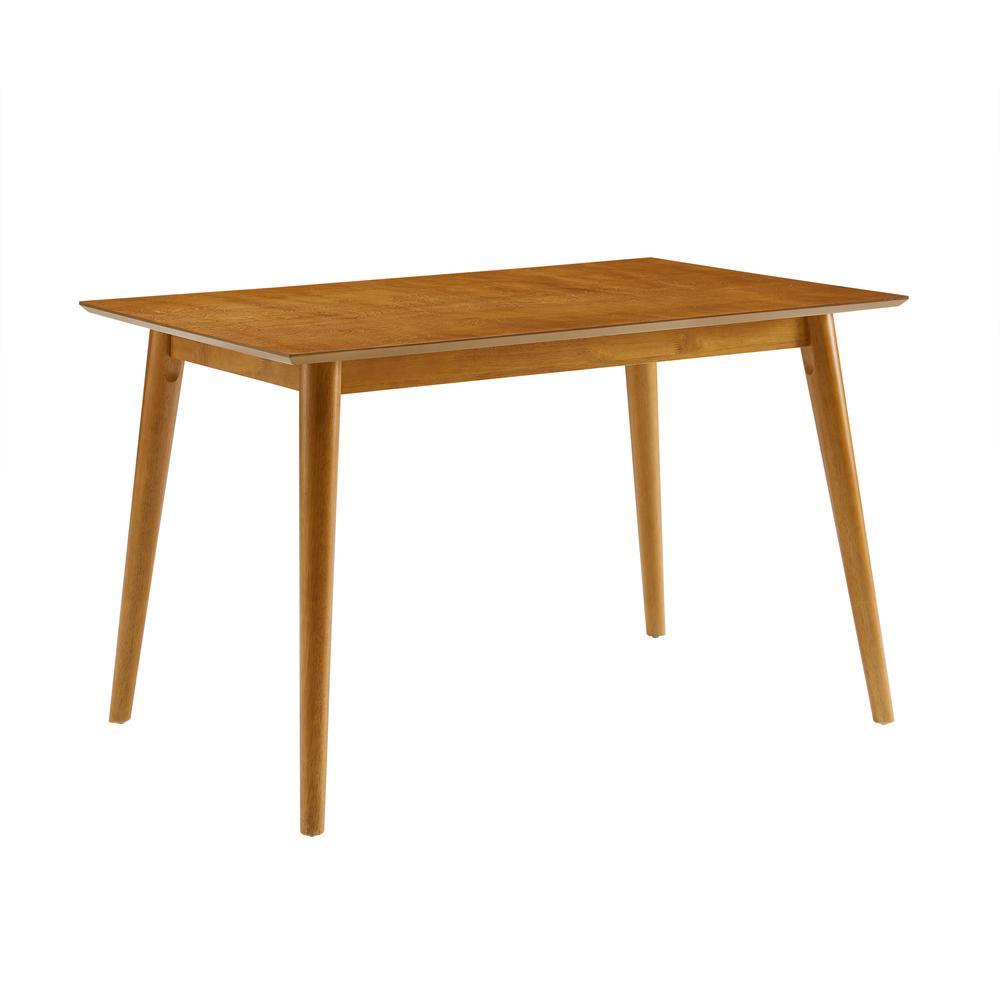 CROSLEY FURNITURE Landon Acorn Dining Table CF20 AC   The Home Depot