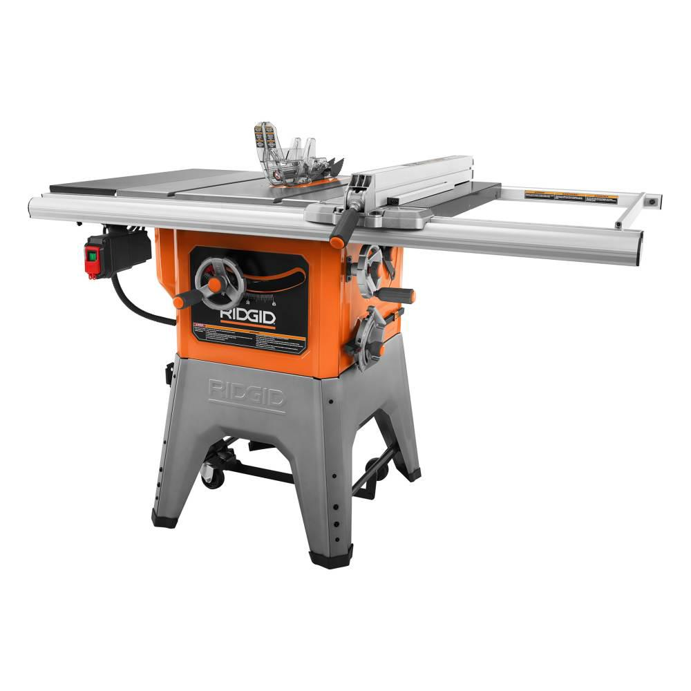 RIDGID 13 Amp 10 in. Professional Cast Iron Table Saw R4520