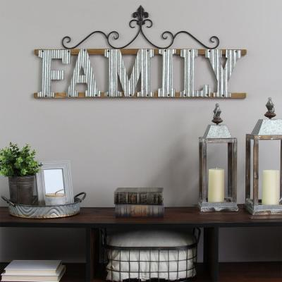 """Family"" Wall Sign"