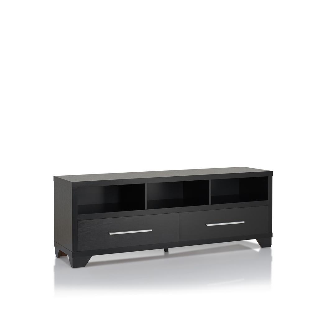 Teriel Black TV Stand