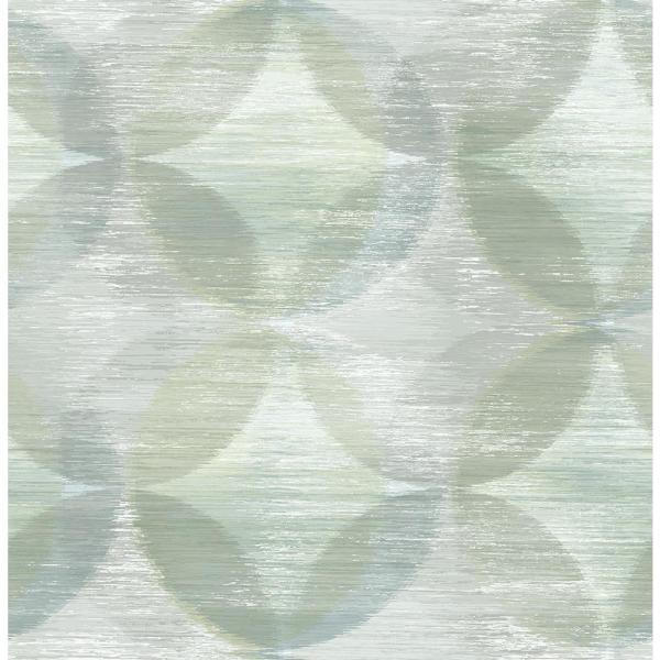 A-Street 56.4 sq. ft. Alchemy Green Geometric Wallpaper 2793-24700