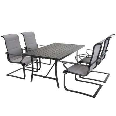 SmartConnect 5-Piece Steel Frame Sling Outdoor Dining Set