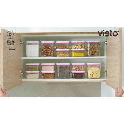 Food Storage Solution Set with Lids (4-Pack)