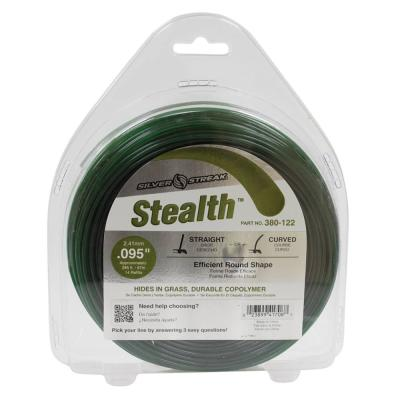 New 380-122 Stealth Trimmer Line for Approximate Length 285 ft. Color Green Diameter 0.095 in. Size 1 lb.