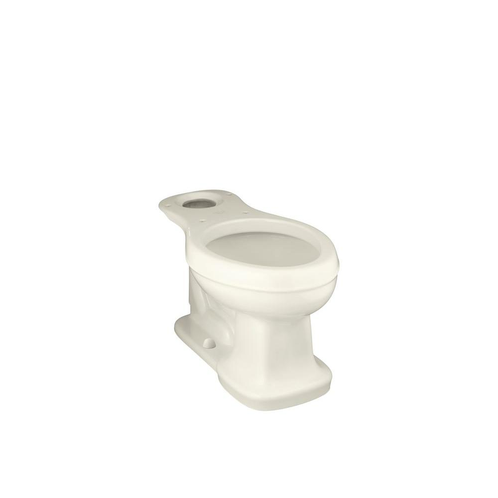 Bancroft Comfort Height Elongated Toilet Bowl Only in Biscuit