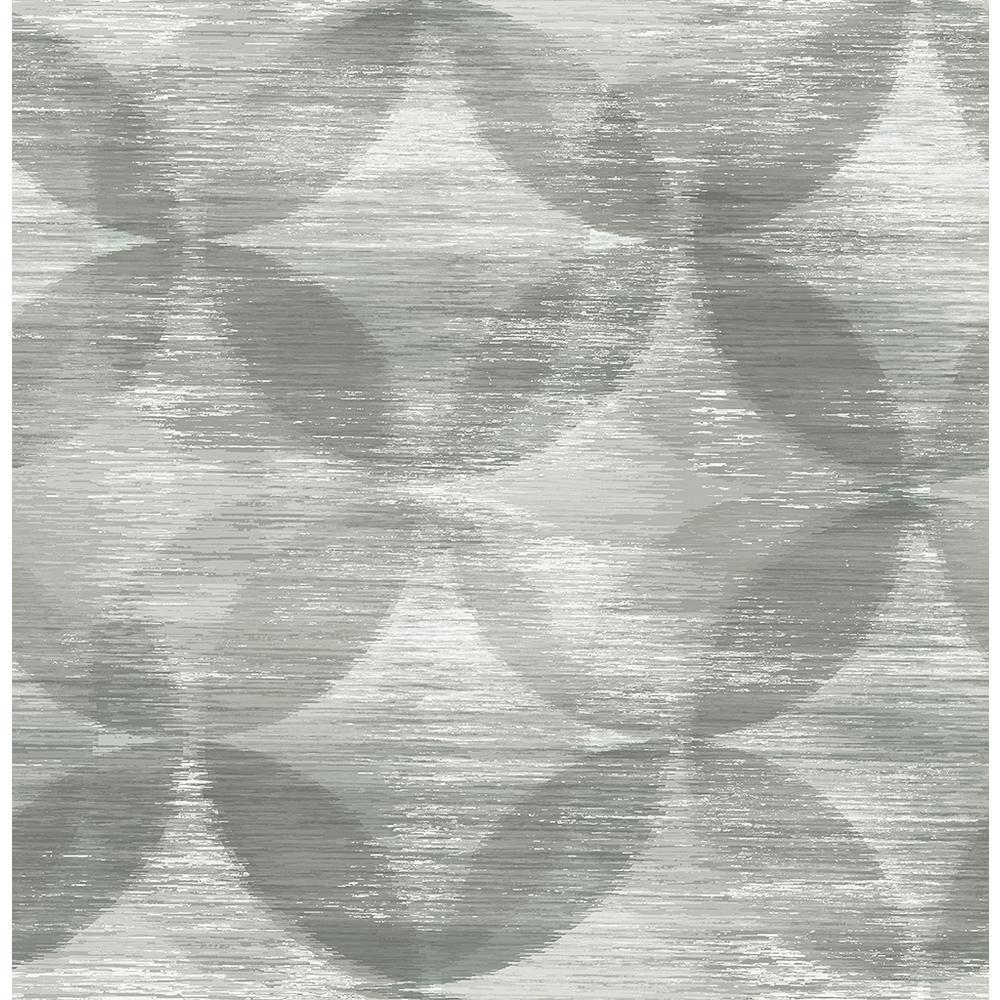 A-Street 56.4 sq. ft. Alchemy Grey Geometric Wallpaper 2793-24702