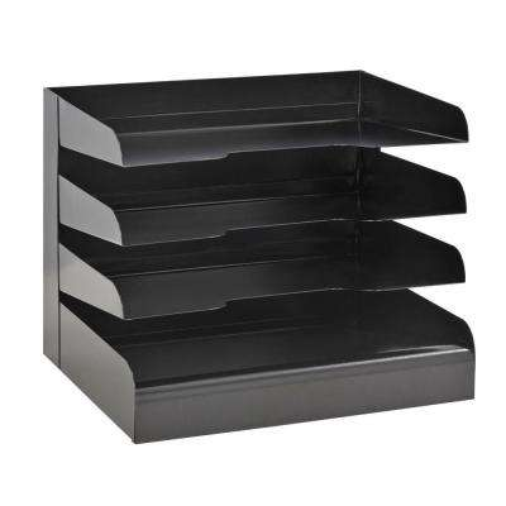 Classic 4-Tier Tray Letter Size Desktop Organizer