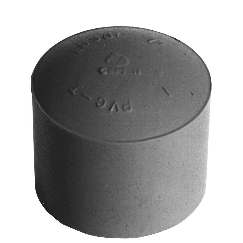 1-1/4 in. PVC Conduit End Cap (8 per Case)