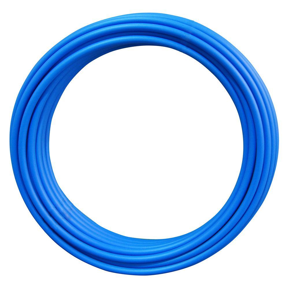 1 in. x 100 ft. Blue PEX Pipe
