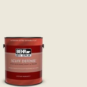Behr Ultra 1 Gal Home Decorators Collection Hdc Sp16 01 Chiffon Extra Durable Flat Interior Paint And Primer 172001 The Home Depot