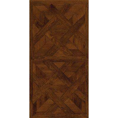 Allure 16 in. x 32 in. Chateau Parquet Dark Luxury Vinyl Tile Flooring (21.3 sq. ft. / case)