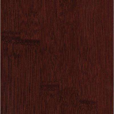 Hand Scraped Horizontal Cafe 5/8 in. Thick x 5 in. Wide x 38-5/8 in. Length Solid Bamboo Flooring (24.12 sq. ft. / case)