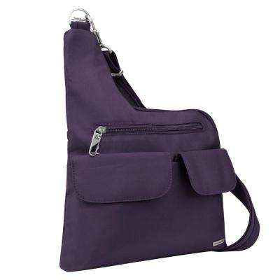 Purple Anti-Theft Crossbody Bag