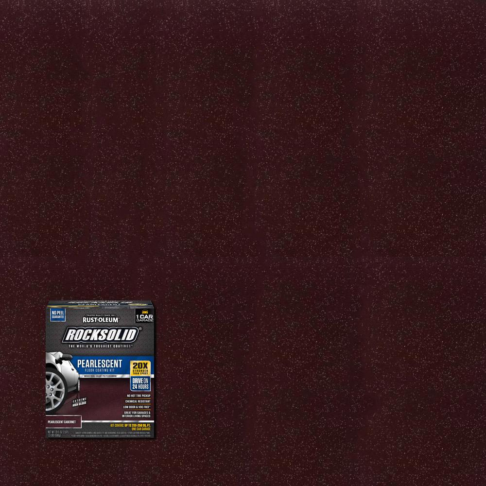Rust-Oleum RockSolid 76 oz. Pearlescent Cabernet Garage Floor Kit