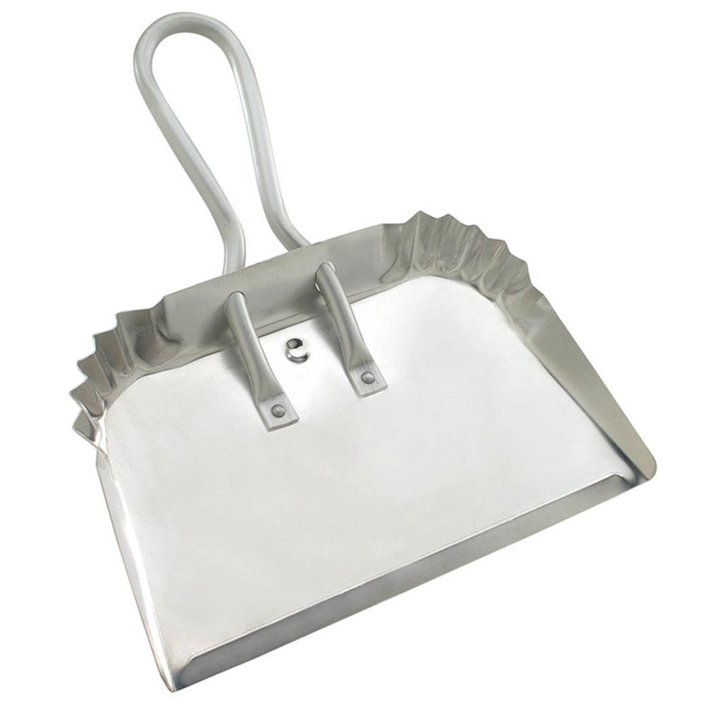 Quickie Professional 17 in. Aluminum Dust Pan (2-Pack)