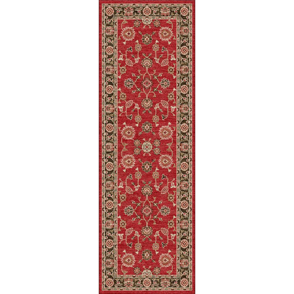 Home Decorators Collection Casa Red 3 Ft X 12 Indoor Runner Rug