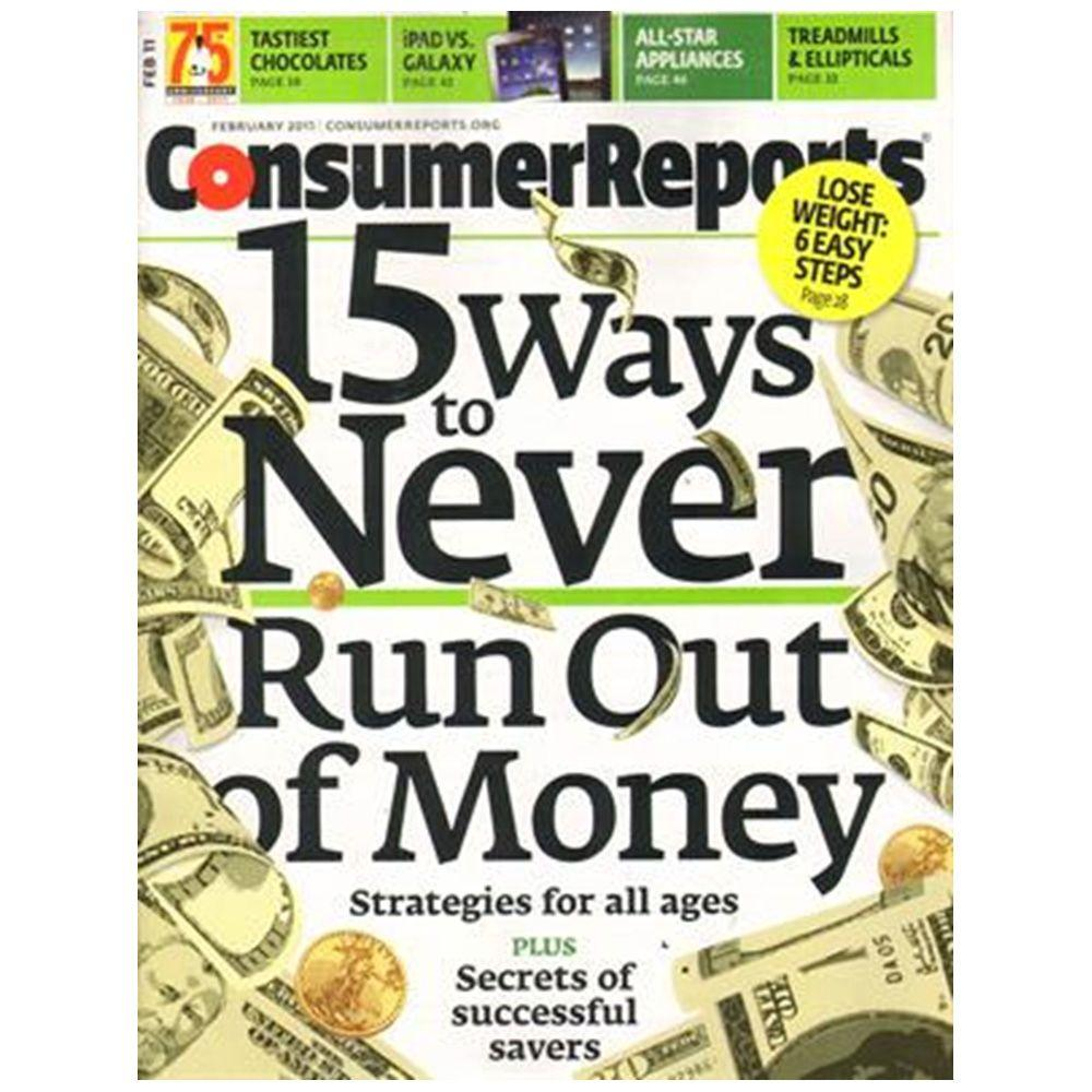 Consumer Reports Magazine 08251 The Home Depot