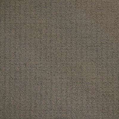 Carpet Sample - Wildly Popular I - Color Sand Dunes Textured Loop 8 in. x 8 in.