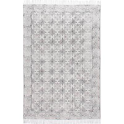 Kristina Moroccan Off White 4 ft. x 6 ft.  Area Rug