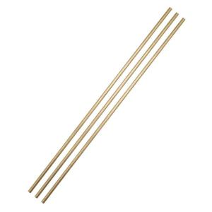 3/8 in. x 2 ft. Brass Tubing (3-Pack)