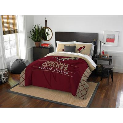 Coyotes Draft 3-Piece Multicolored Full Comforter Set