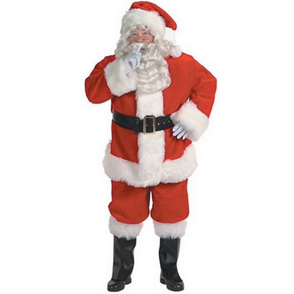 XL Professional Quality Santa Suit Costume for Adults