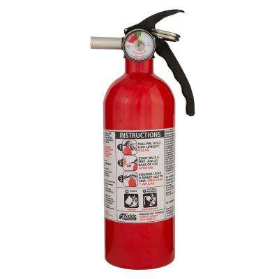 5-B:C Rated Disposable Fire Extinguisher