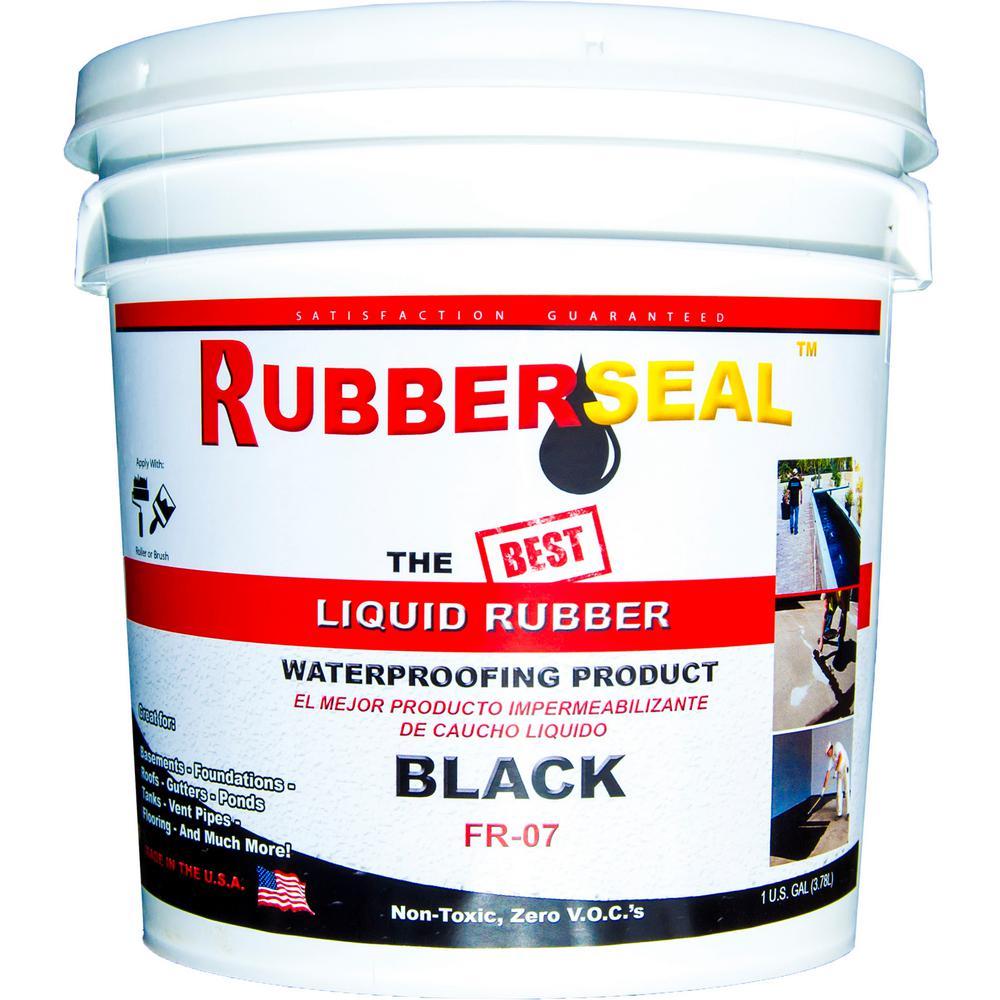 1 Gal. Black Liquid Rubber