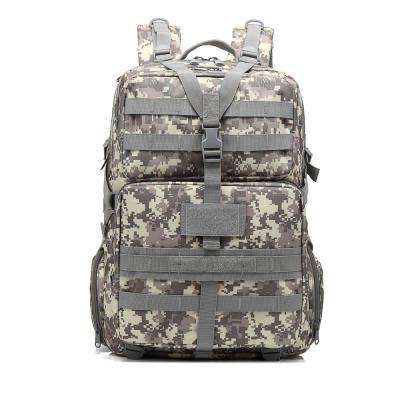 BL068 3P 45 l Outdoor Marching Knapsack Tactical 12 in. ACU Camouflage Backpack