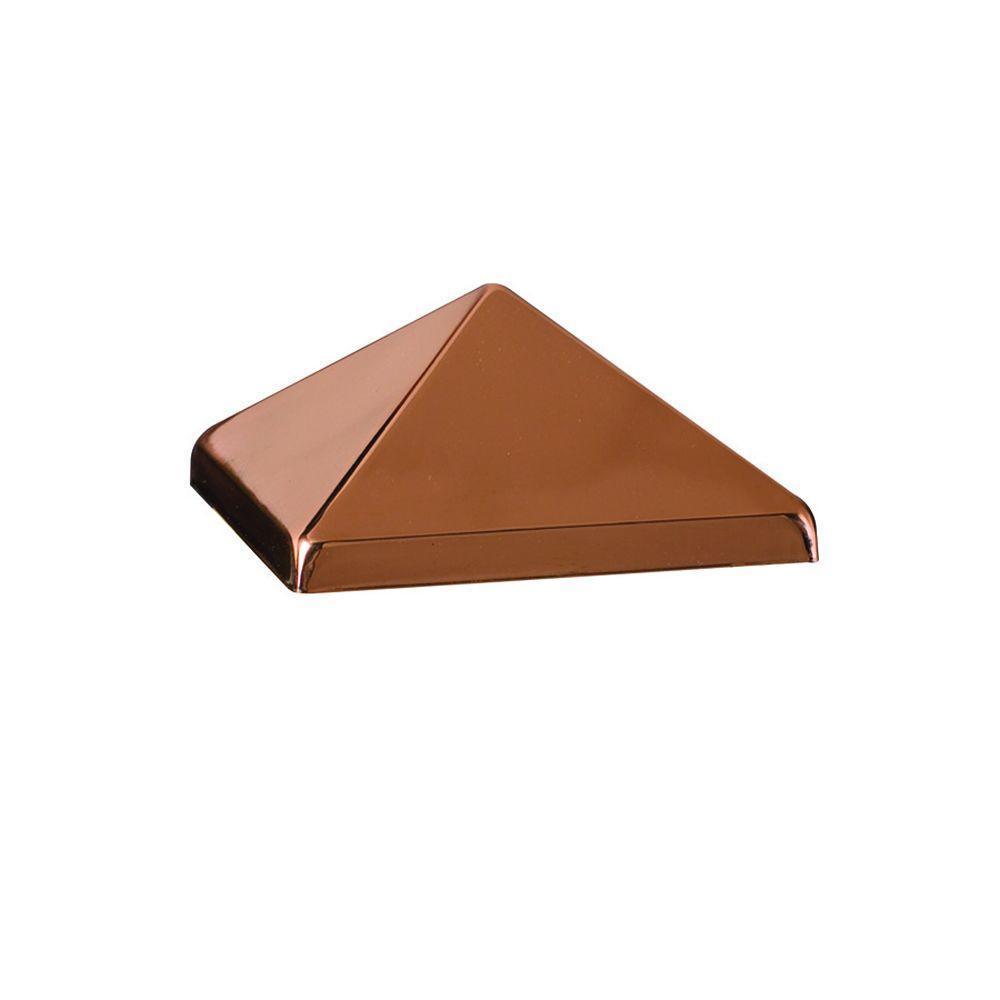 DeckoRail 4 in. x 4 in. Copper Pyramid Post Point