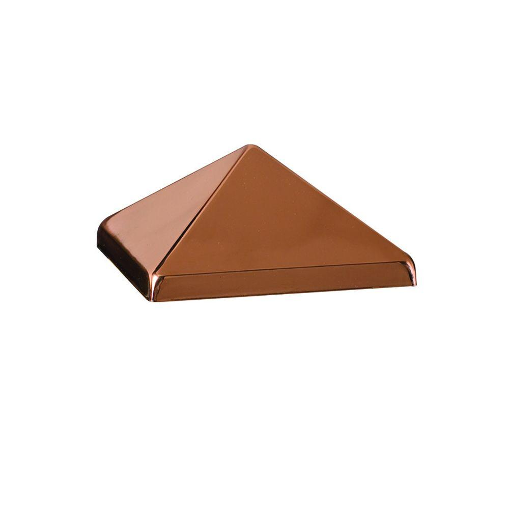 DeckoRail 4 in. x 4 in. Copper Pyramid Post Point