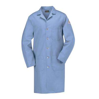 EXCEL FR Men's Small Light Blue Lab Coat