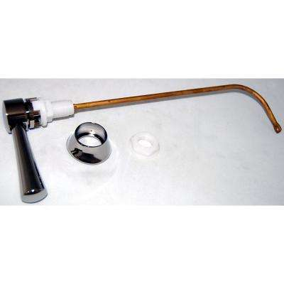 Toilet Trip Tank Lever for TOTO Toilets in Polished Nickel