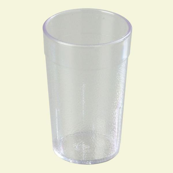 8 oz. Polycarbonate Stackable Tumbler in Clear (Case of 24)