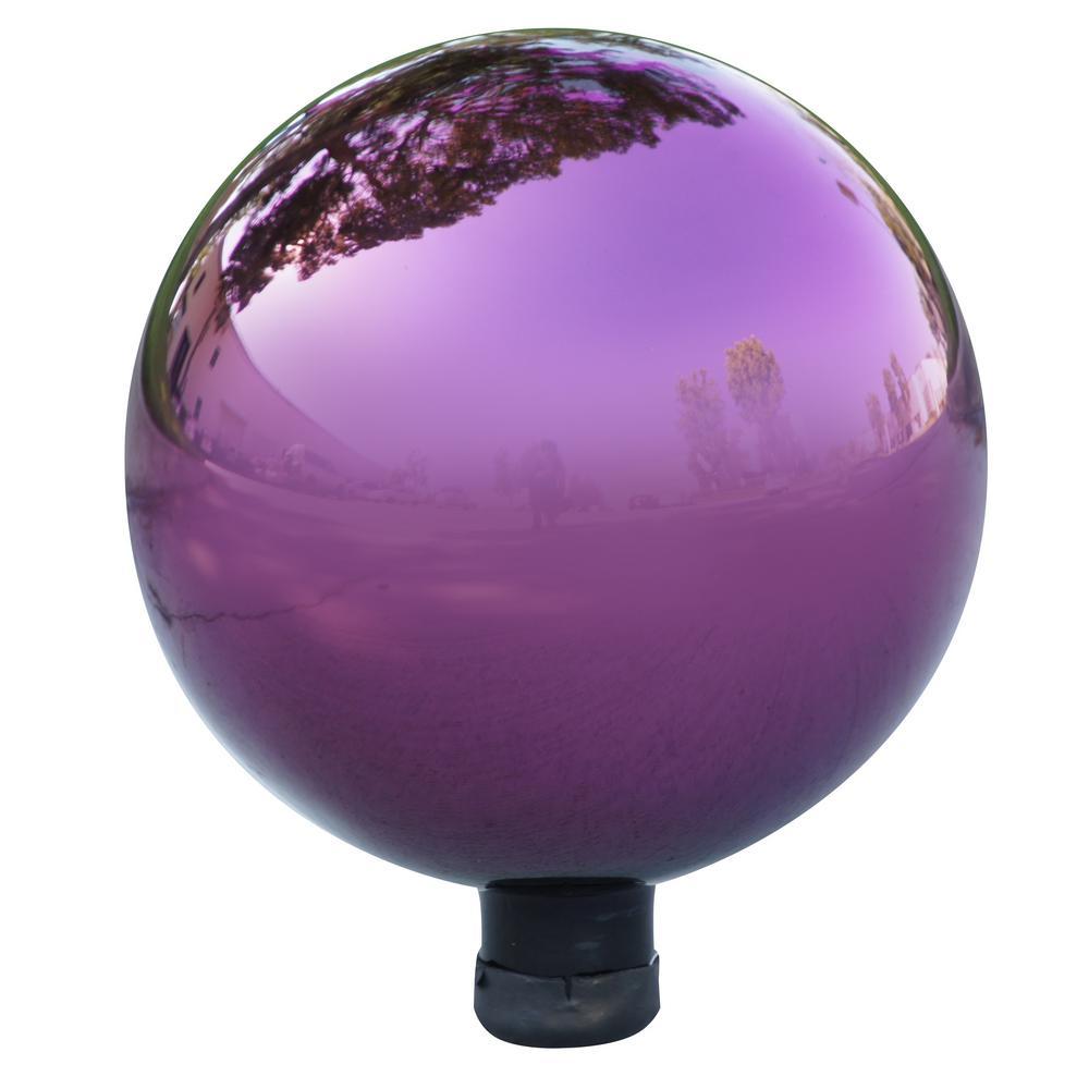 Electric Purple Glass Gazing Globe