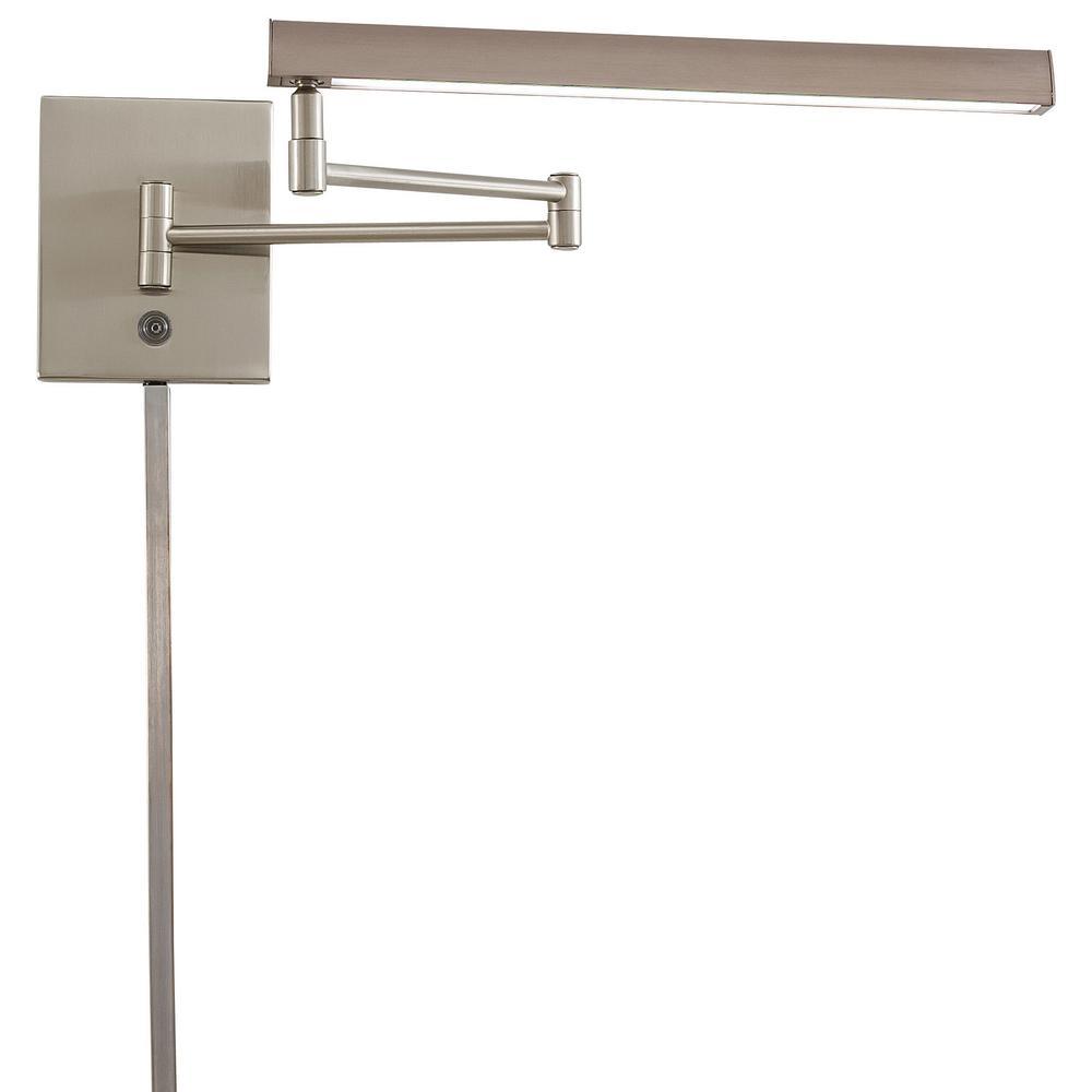 George Kovacs Madake 13-Watt Brushed Nickel Integrated LED Task Swing Arm