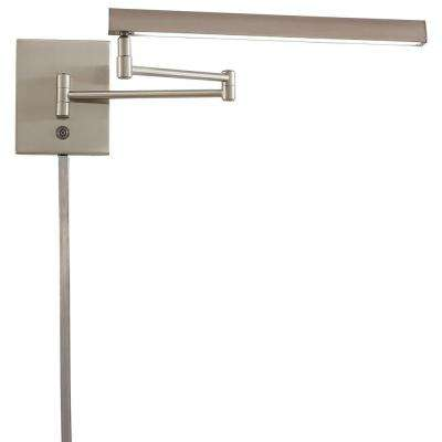 Madake 13-Watt Brushed Nickel Integrated LED Task Swing Arm