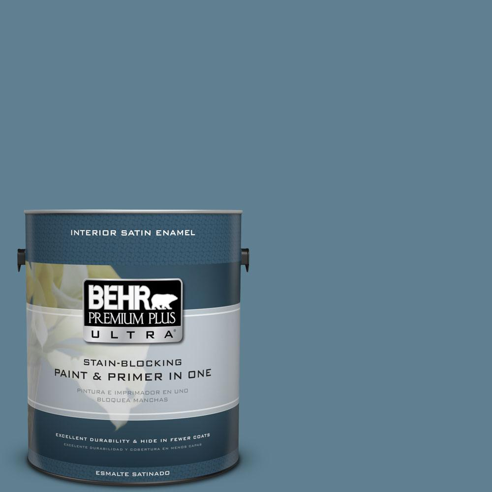 Behr premium plus ultra 1 gal s470 5 blueprint satin enamel s470 5 blueprint satin enamel interior paint malvernweather Image collections