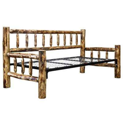 Glacier Country Medium Brown Puritan Pine Day Bed
