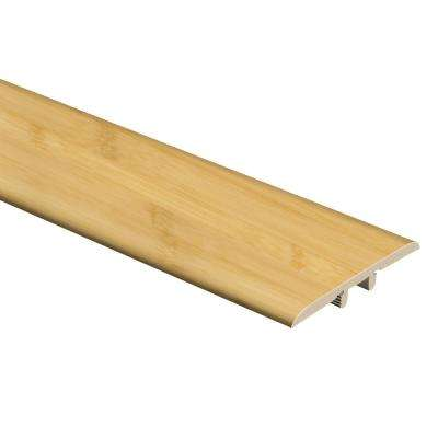 Traditional Bamboo-Light 5/16 in. Thick x 1-3/4 in. Wide x 72 in. Length Vinyl T-Molding