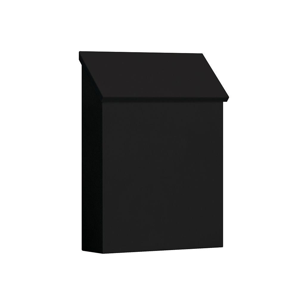 4600 Series Black Standard Vertical Traditional Mailbox