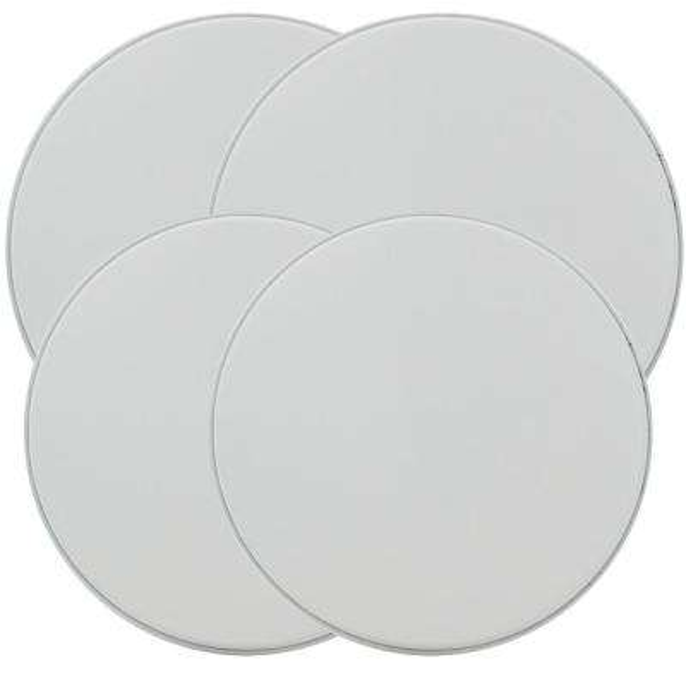 Round Burner Kovers in White