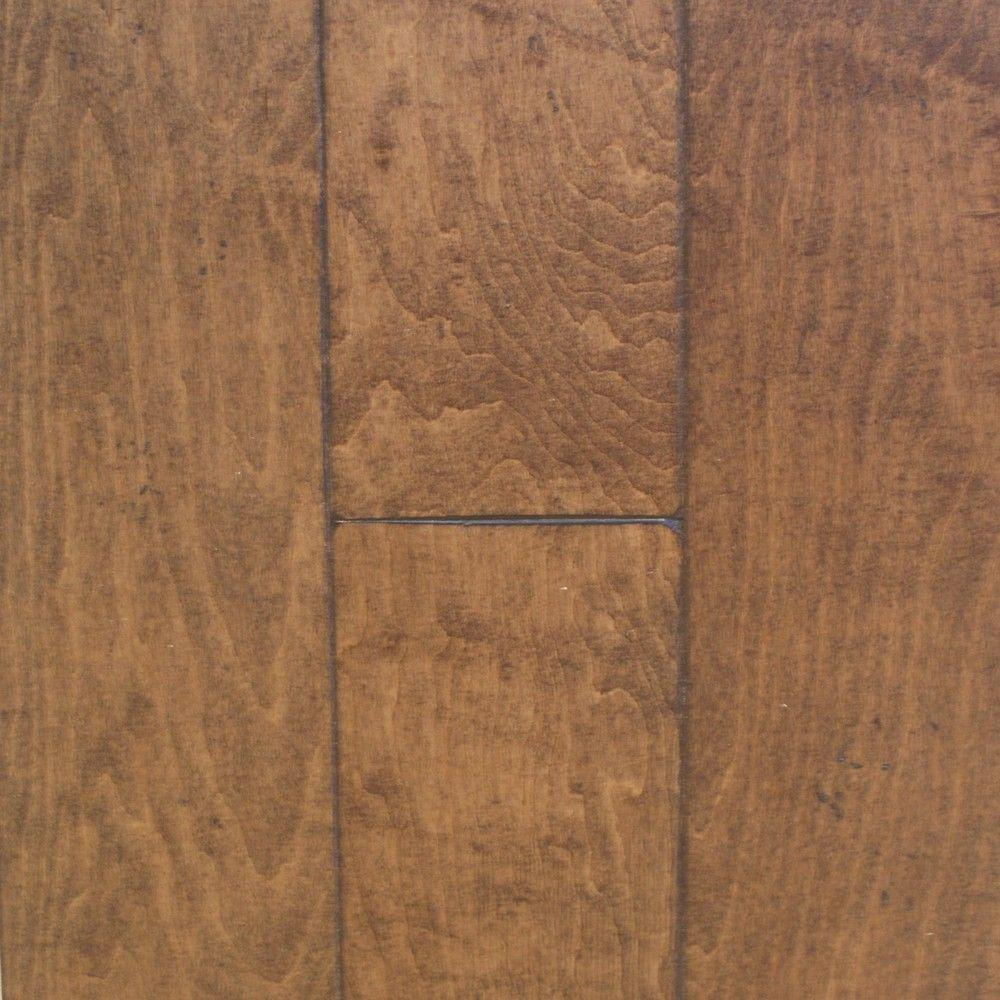 Millstead Antiqued Maple Bronze 3/8 in. Thick x 4-3/4 in. Wide x Random Length Engineered Click Hardwood Flooring (33 sq.ft./case)