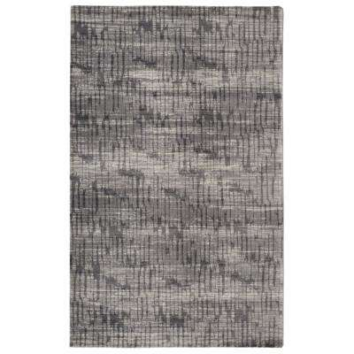 Traffic Contemporary Modern Grey 3 ft. x 5 ft.  Area Rug