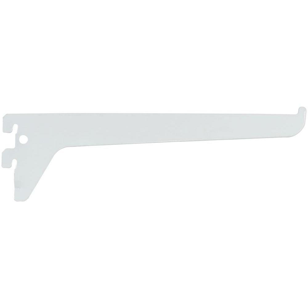 Rubbermaid 8 in. Single Track Bracket for Wood or Wire Shelving ...
