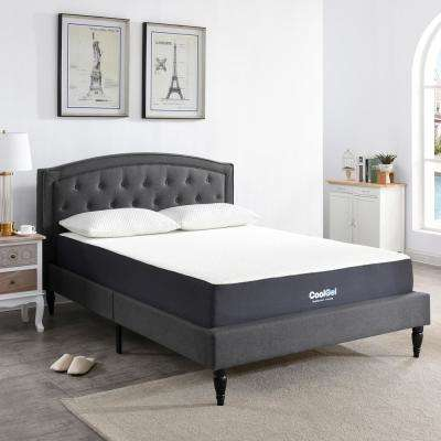 Gel Memory Foam Fabric California King Mattresses Bedroom