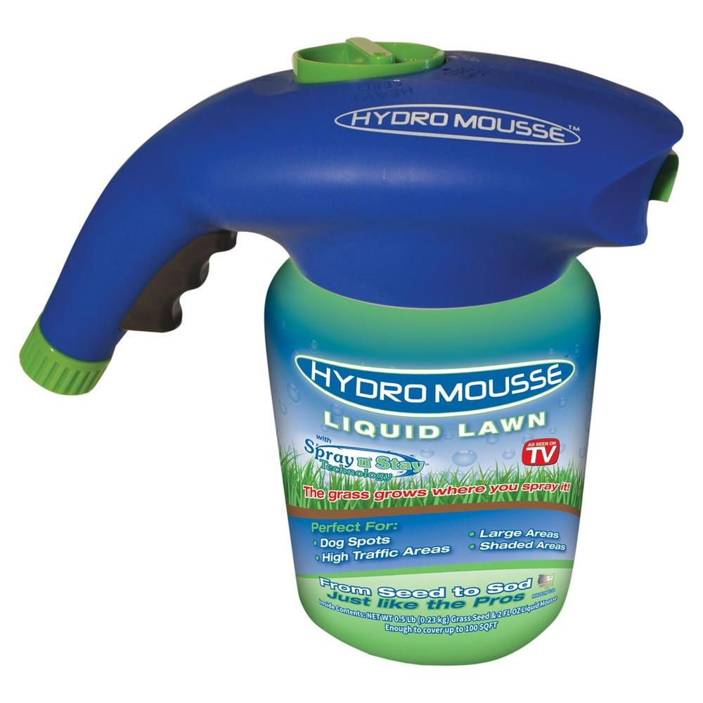 HydroMousse 2 oz  Liquid Lawn with Spray n' Stay Technology
