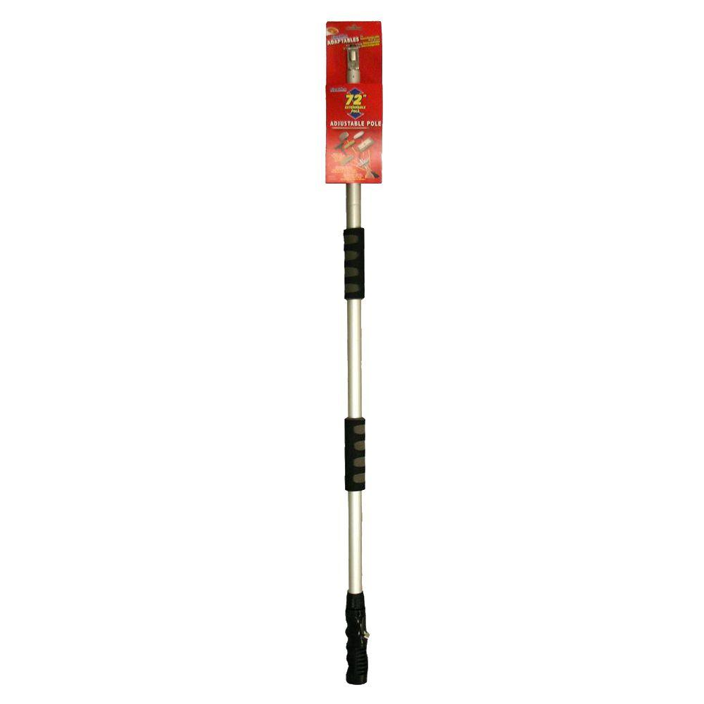 Adaptables 72 in. Adjustable Flow-Thru Pole