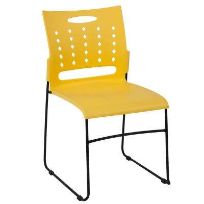 Yellow Stack Chair