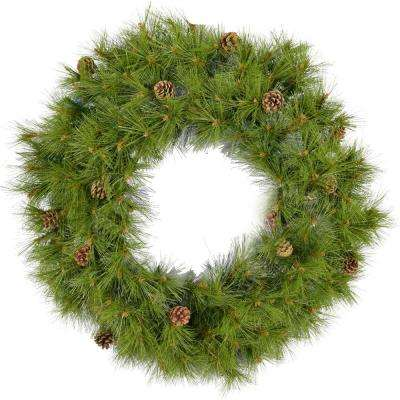 36 in. Eastern Pine Artificial Holiday Wreath